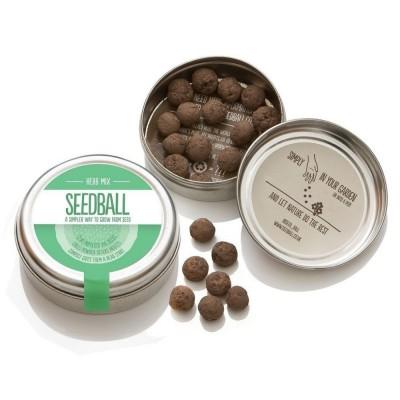 Herbs Mix - mix di semi di piante aromatiche,confezione in alluminio