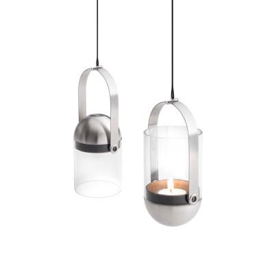 Porta-candela gravitazionale GRAVITY CANDLE by Hofats con accessori