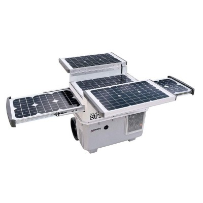 Generatore solare portatile con batteria