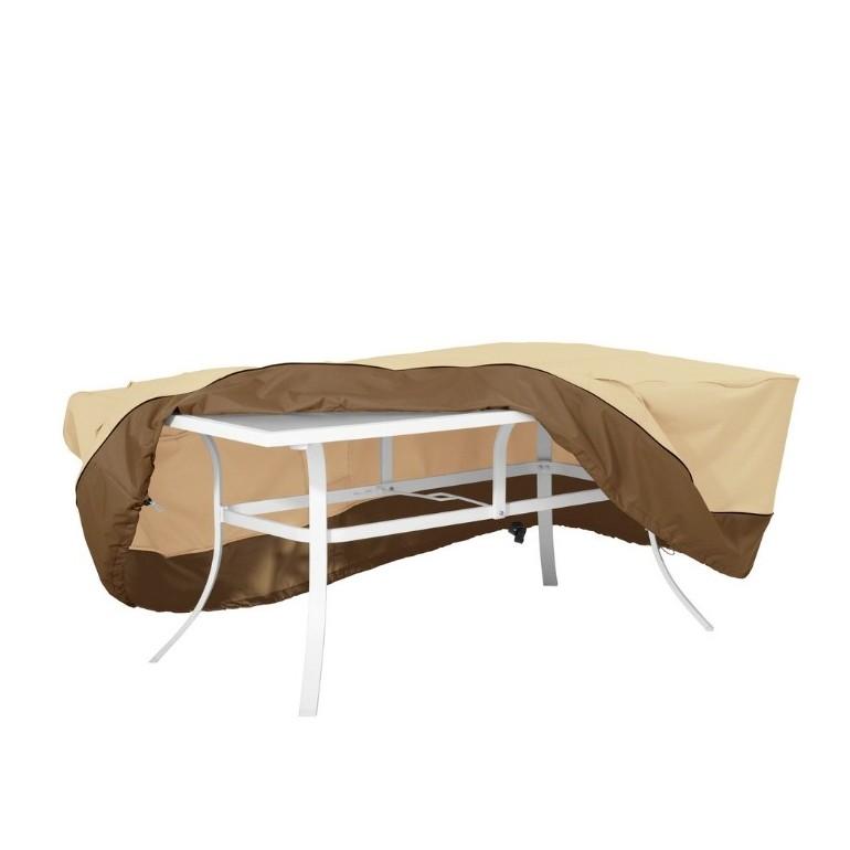 Coperture Per Tavoli Da Giardino.Copertura Impermeabile Da Esterno Per Tavolo Rettangolare Ovale