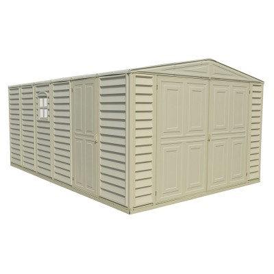 WoodBridge Garage 10,5'x15,5' Duramax Classic in PVC, 320 x 477 x 222 cm