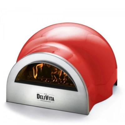 """Forno Delivita Rosso peperoncino Il forno a legna cuoci-tutto di DeliVita, colore Rosso """"Chilli"""""""