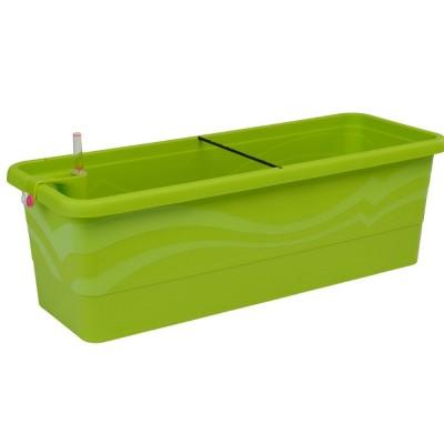 Vaso GARDENIE SMART 80x22,5x19 cm, con sistema di auto-irrigazione