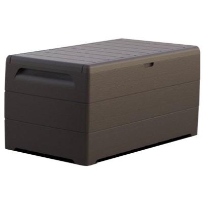 Baule in PVC Duramax 129,5 x 70 x 62,5 cm, colore Grigio, 416 litri