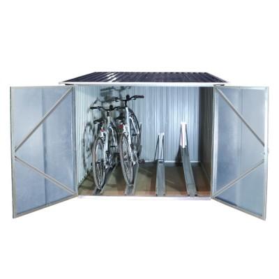 : Box per Biciclette Metal Bicycle Store di Duramax