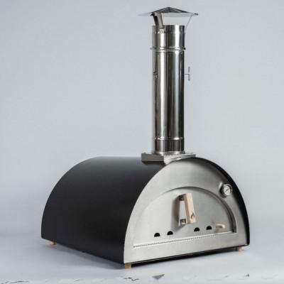 """Forno per Pizza e pane Ventura """"Solo"""" alimentato a legna. In acciaio inox. Temperatura massima 500C°"""