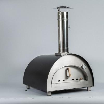 """Forno per Pizza e pane Ventura """"Puro Grande"""" alimentato a legna. In acciaio inox. Temperatura massima 500C°"""