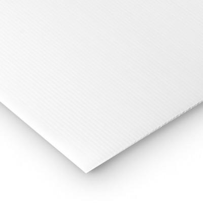 50 lastre Polipropilene alveolare-polionda, colore Bianco, 150 x 50 cm