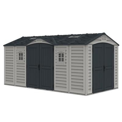 Garage in PVC Apex Pro PLUS 15'x8' Duramax, 476 x 246 x 235 cm