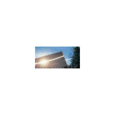 Lastra policarbonato alveolare spessore 4 mm 100 x 100 cm Bronzo