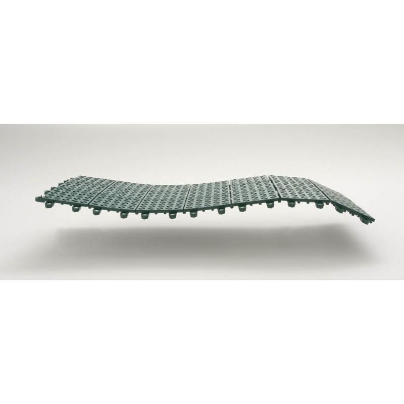 Piastre Da Giardino In Plastica.Piastrelle Flessibili In Plastica 55 5 X 55 5 Cm Da Esterno E