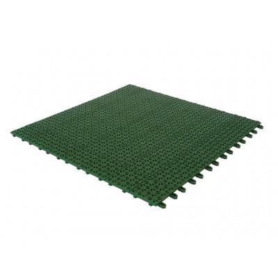 Piastrelle Flessibili in Plastica 55,5 x 55,5 cm da Esterno e Giardino. Drenanti e Autobloccanti PEZZI 6