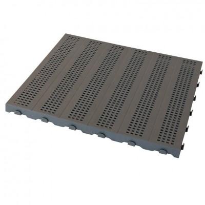 Piastrella in Plastica da Esterno e Giardino 60 x 60 cm Forata equivalente a 1,5 m2. PEZZI 4