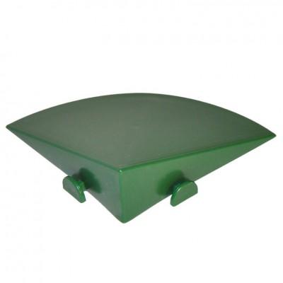 Accessorio per Piastrella in Plastica da Esterno e Giardino ANGOLO 10 x 10cm. Confezione da 4 pezzi