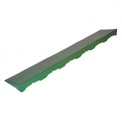 Accessorio per Piastrella in Plastica da Esterno e Giardino Scivolo Femmina 40 X 10 cm. 4 pezzi