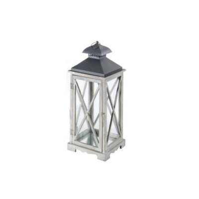 Lanterna ARLES, colore GRIGIO, misura M