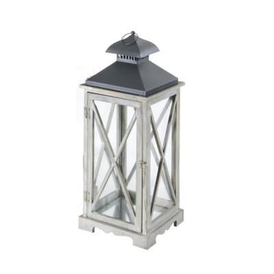 Lanterna ARLES, colore GRIGIO, misura L