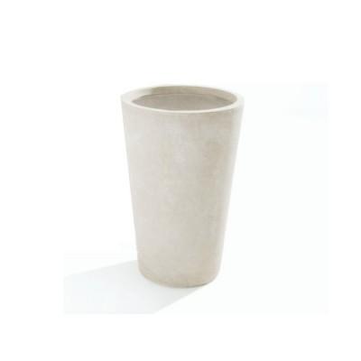 Vaso in Argilla mista Fibra di Vetro MAXIME, colore AVORIO, misura XL