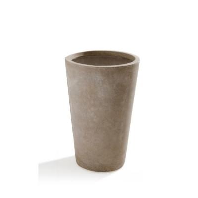 Vaso in Argilla mista Fibra di Vetro MAXIME, colore BEIGE, misura XL