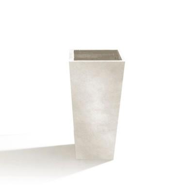 Vaso in Argilla mista Fibra di Vetro RAPHAEL, colore AVORIO, misura XL