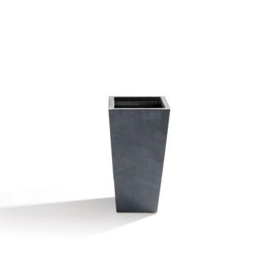 Vaso in Argilla mista Fibra di Vetro RAPHAEL, colore GRIGIO, misura L