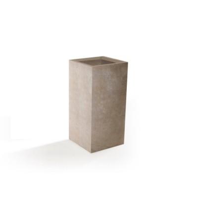 Vaso in Argilla mista Fibra di Vetro ROQUEBRUNE, colore BEIGE, misura L