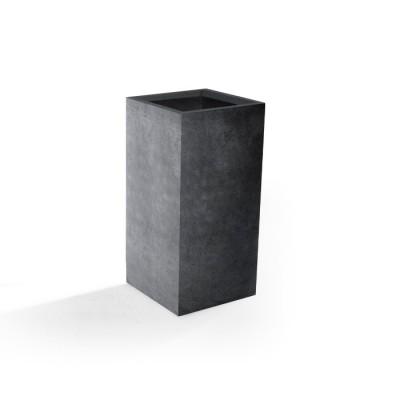 Vaso in Argilla mista Fibra di Vetro ROQUEBRUNE, colore GRIGIO, misura XL