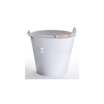 Secchio colorato BIANCO, 10 litri