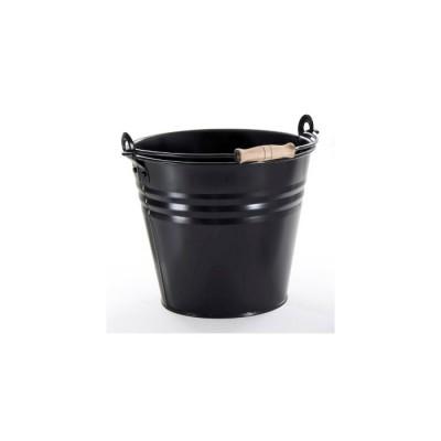 Secchio colorato NERO, 10 litri