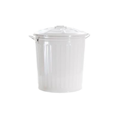 Bidone colorato BIANCO, 62 litri
