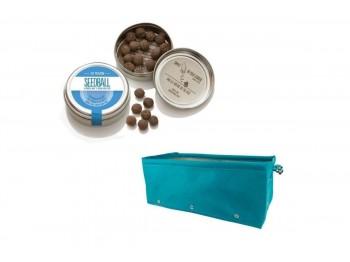 Regali unici creati con piu prodotti con seedballs e vasi in tessuto