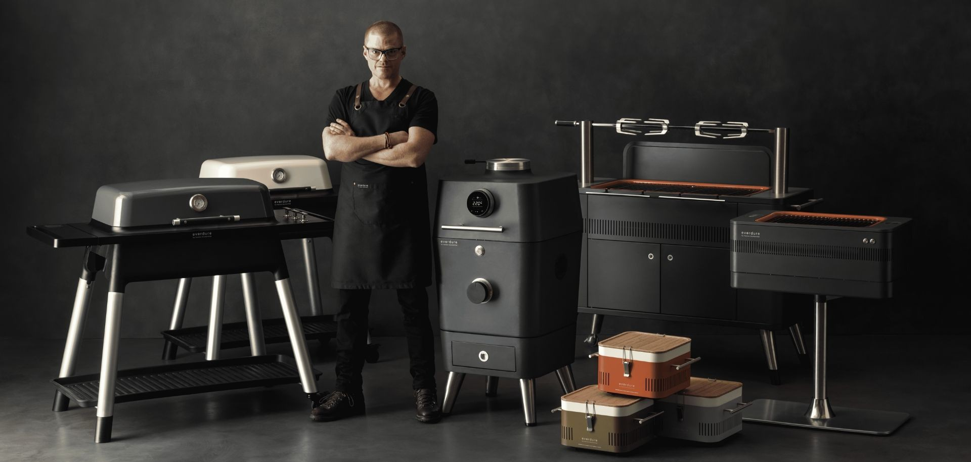Scopri i barbecue Everdure by Heston Blumenthal e rendi speciali le tue grigliate